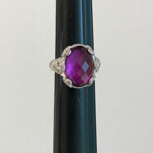 Judith Ripka Goddess Ring Size 9 - Perfect.